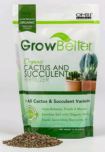 fertilizers for succulents